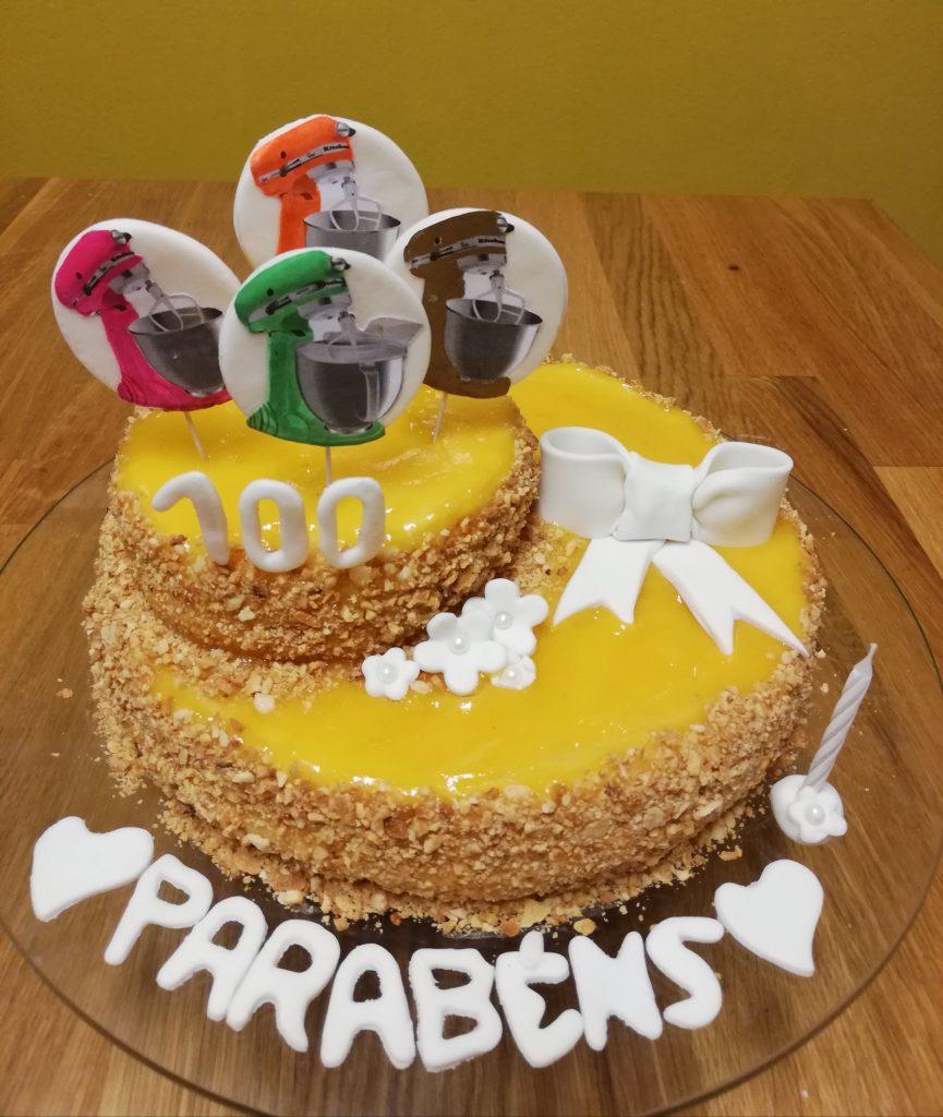 Célia Deodato Bolo Aniversário Receita KitchenAid Portugal